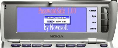 PasswordSafe 1.00 screenshot