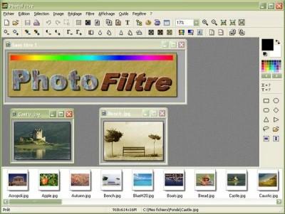 PhotoFiltre 6.2.7 screenshot