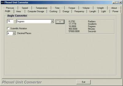 Phoxel Unit Converter 1.0 screenshot