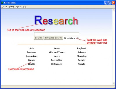 Re-Search 1.10 screenshot