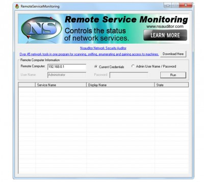 RemoteServiceMonitoring 1.4.3 screenshot
