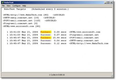 RoboTest 2.0.7 screenshot