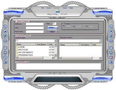 RoyalFTp 2.0.0.0 screenshot