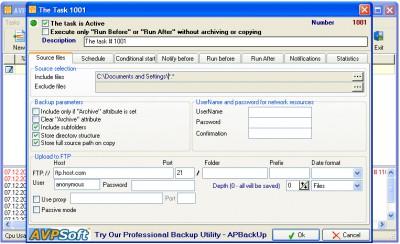 Save2FTP 1.6 screenshot