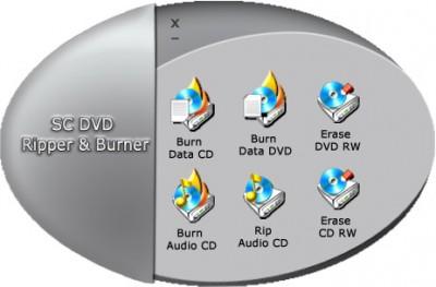 SC Free DVD Ripper and Burner 5.0.0.2 screenshot
