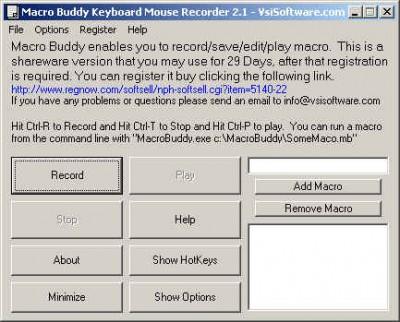 Send Keyboard Keys 1.0 screenshot