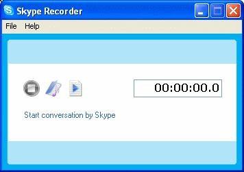 Skype Recorder 3.2.1 screenshot