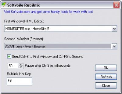 Softvoile Rubilnik 1.32 screenshot