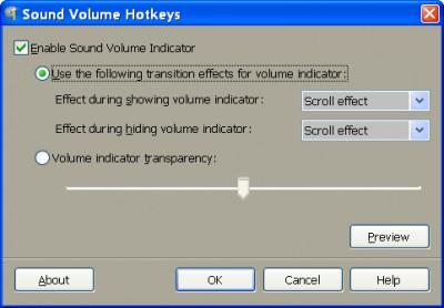 Sound Volume Hotkeys 1.1 screenshot