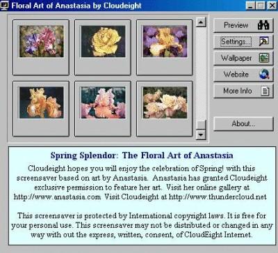 Spring Splendor Screensaver 1.0a screenshot