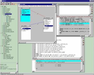 SQLite3 database manager LITE 3.1 screenshot