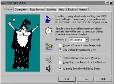Stay Live 2000 3.2 screenshot