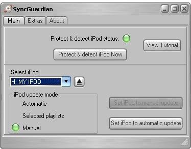 SyncGuardian 1.45 screenshot