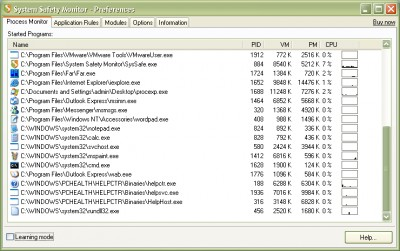 System Safety Monitor Free Edition 2.0.8.582 screenshot