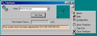 TimeSync 2.3.0 screenshot