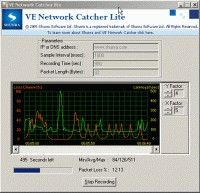 VE Network Catcher Lite 4.6 screenshot