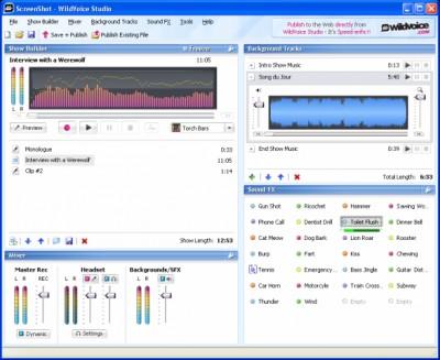 WildVoice Podcast Studio 1.0 screenshot