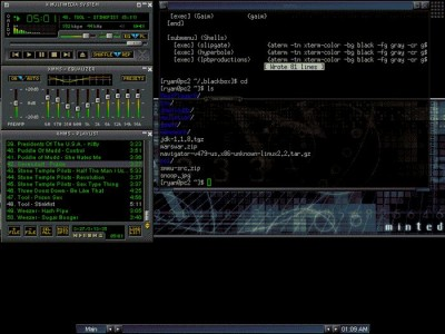 XMMS 1.2.7 screenshot