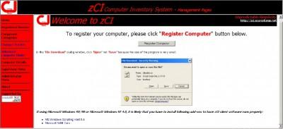 zCI Computer Inventory System 3.1B screenshot